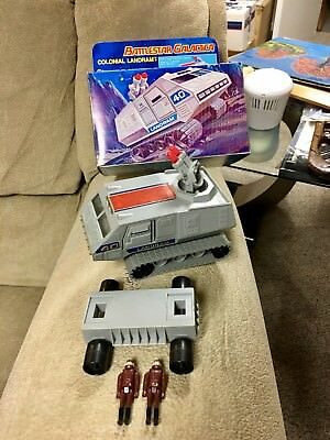 Complete 1979 Battlestar Galactica Landram With Reproduction Box LOOK