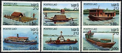 Laos 1982 SG#559-564 River Crafts MNH Set #D58986