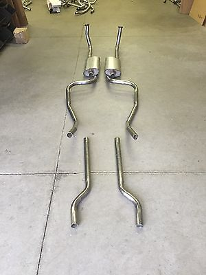 1955 Ford Thunderbird Dual Exhaust System, Aluminized