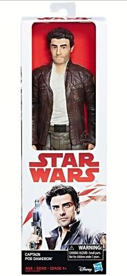 POE DAMERON STAR WARS: THE LAST JEDI 12-INCH ACTION FIGURE 30 cms NEW!