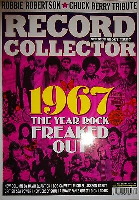 Record Collector Magazine - May 2017 - Chuck Berry, David Bowie, 1967, AC/DC