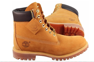 Timberland Wheat Men's Boots 6-Inch Classic Brand New  Premium Waterproof