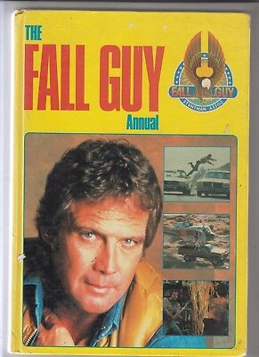 THE FALL GUY ANNUAL  - Grandreams 1981 UK  app 60 PGS  -comic, text and photos