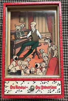 Rare Disney 101 Dalmatians Dancing Roger Music Box