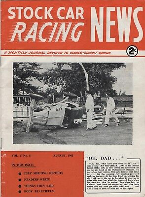 Stock Car Racing News 1965