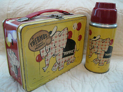 Largest, Rare Vintage Metal Lunchbox Collection!  Toppie And All The Rest!