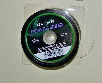 Ultima Power Zig High Quality Lead Core 12 Lb / 25  M Hhok Link