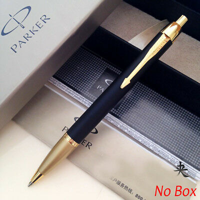 Parker IM Ballpoint Pen Golden Clip Business Parker Matte Black Ball point Pen 2