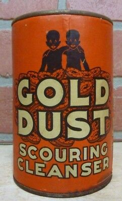 Old GOLD DUST SCOURING CLEANSER Container Tin made in USA unopened