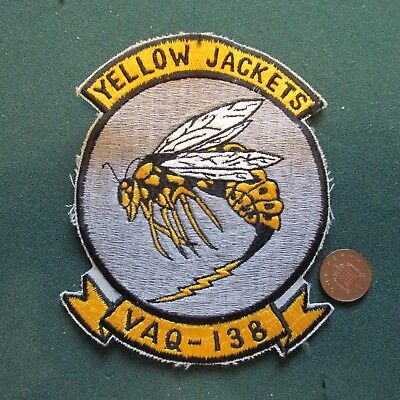 Us Navy Patch (Vaq 138)