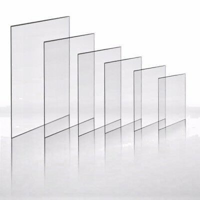 8x4~ 1.5mm Thick Clear Perspex. 2 sheets BARGAIN!!! Crafts Glass Replacement