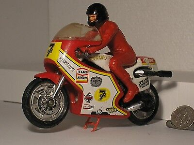 BARRY SHEENE Matchbox RG500 RGA500 SUZUKI 2 Stroke Motorcycle Moto GP Bike Model