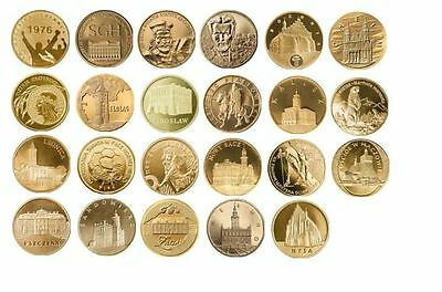 23 coins - 2 zlote 2006 -- full year set --- UNC/new Mint condition