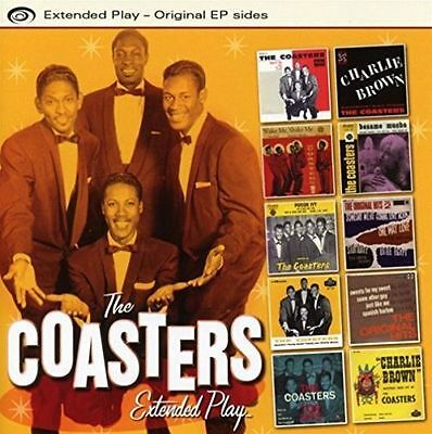 The Coasters Extended Play [Original Ep Sides] [Ep] New Cd