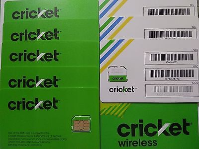🆕 Cricket 🔵 Micro Sim Card ⏺SKU: SGMN4003 🔵 for activation / replacement
