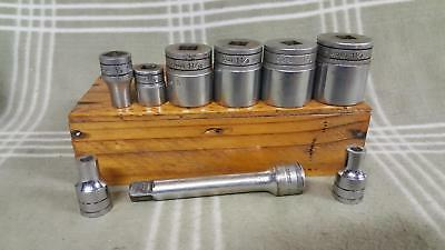 Vintage lot of Snap-on Tools Sockets