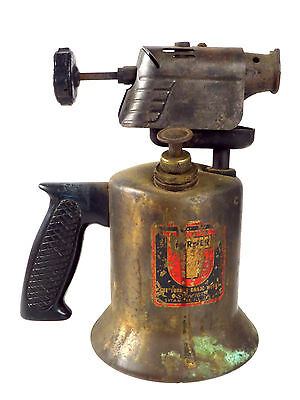 Antique Turner Brass Works Gasoline Torch Tool Sprayer Brazing Blow Steam Punk