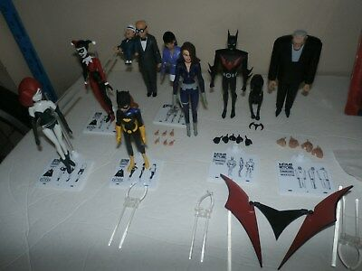 DC Collectibles Animated Series lot - BATMAN BEYOND BRUCE WAYNE ACE LOIS +++