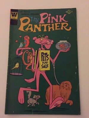 Whitman Comics, The Pink Panther, No. 43, May 1977