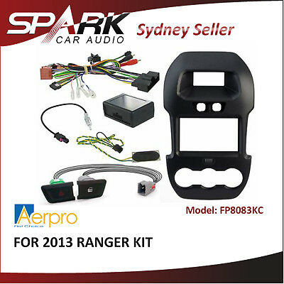 AD Install Kit Facia Fascia Dash Plate Panel for Ford Ranger (PX) 12-15 FP8083KC