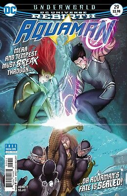 Aquaman #29 Rebirth Dc Comics Near Mint 10/18/17