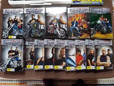 american chopper DVDs occ harley softail orange county choppers hotrod ratrod