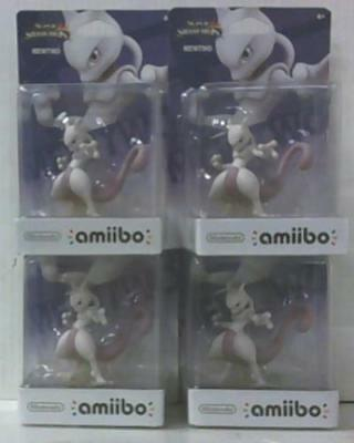 NEW Lot of 4 Mewtwo Amiibo Super Smash Brothers Series Edition $92