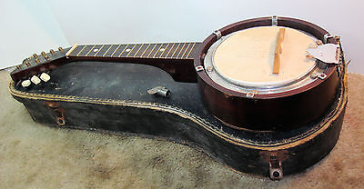 G.H. & S. George Houghton & Sons British Made Banjo Mandolin