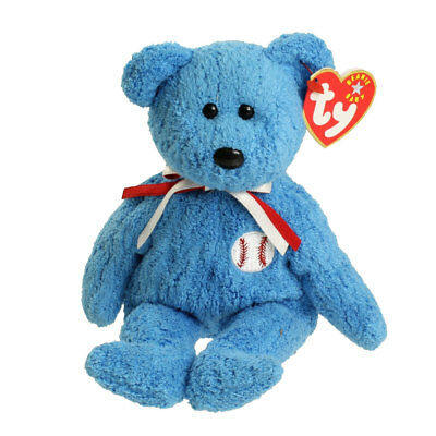TY Beanie Baby - ADDISON the Baseball Bear (8.5 inch) - MWMTs Stuffed Animal Toy