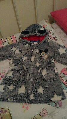 Mickey mouse Baby Dressing gown 12-18