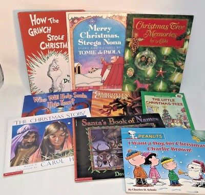 25 children's CHRISTMAS picture books lot Advent countdown gifts!   SHIPS FREE
