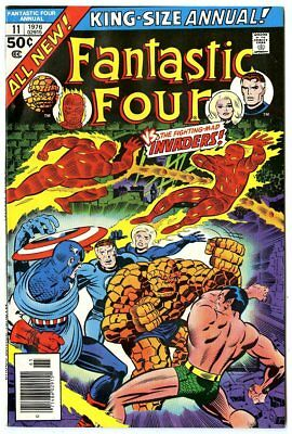 Fantastic Four Annual #11 VG/FN 5.0  vs. The Invaders  Marvel  1976  No Reserve