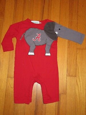 Beckers Alabama Crimson Tide Romper/Coverall Size 6 Months