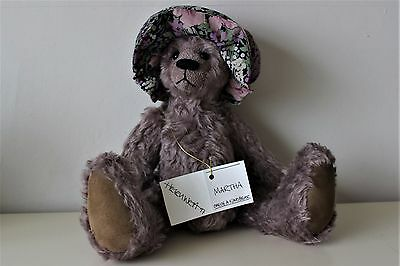 Martha by Helen West CLOTH EARS One of a Kind Bear 38cm high
