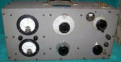 Boonton Radio 170-A ... Q Meter from the Naval Research Lab / Radio Division VGC