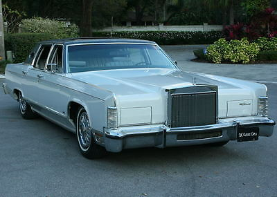 1978 Lincoln Town Car Original RARE MOON ROOF OPTION - LOW MILE SURVIVOR  1978 Lincoln Towncar -  53K ORIG MI