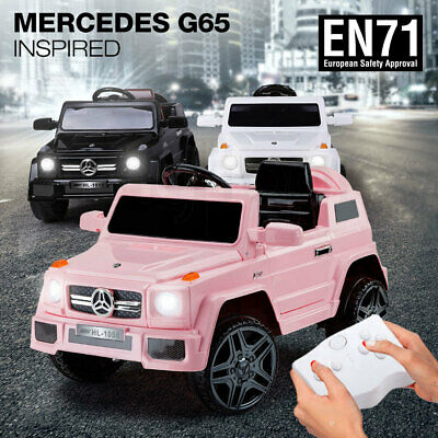 NEW ROVO KIDS Ride-On Car MERCEDES G65 Inspired Electric Toy Battery Childs