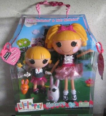 Lalaloopsy - Sisters Misty Mysterious & Tricky Mysterious **brand New**