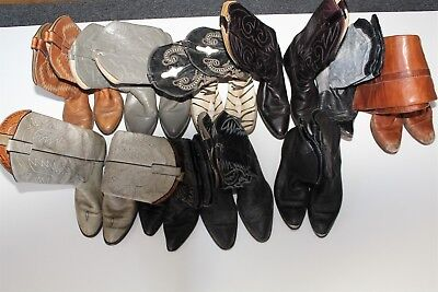 Cowboy USED REHAB Lot Boots Wholesale zPvG