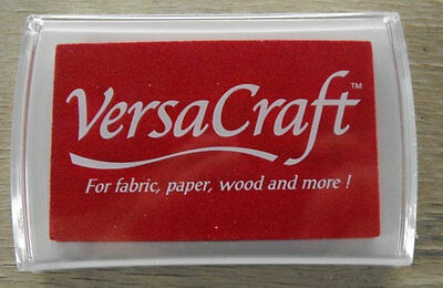 Versacraft Ink Pad - Poppy Red