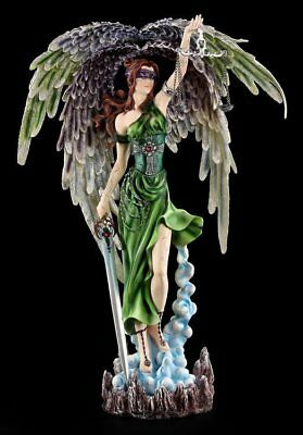 Large Angel Figurine - Justitia Goddess of Justice - Statue Fantasy