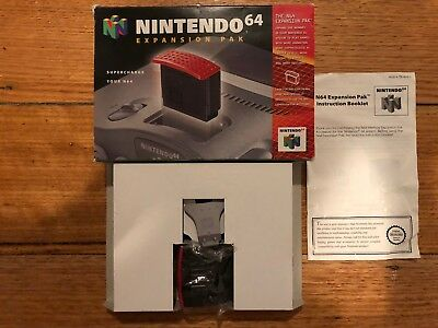 Expansion Pak Nintendo 64 N64 Boxed PAL CIB