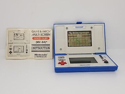 Gold Cliff + goldcliff Manual | Nintendo Game and Watch Retro | AUS seller