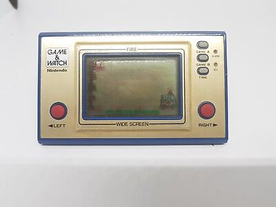 Fire widescreen | Nintendo Game and Watch Retro classic | AUS seller
