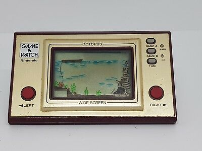 Octopus | Nintendo Game and Watch Retro classic | AUS seller