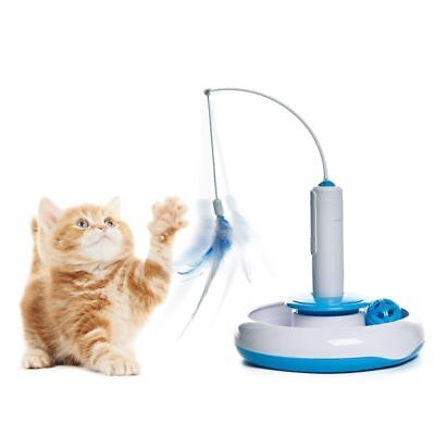Pet Dog Cat Automatic Toy Kitten Cat Playing Move Himself Funny WITHOUT BATTERY