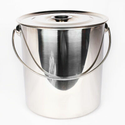 High Quality No Magnetic Stainless Steel Bucket Milk Pail Water Soup Bucket
