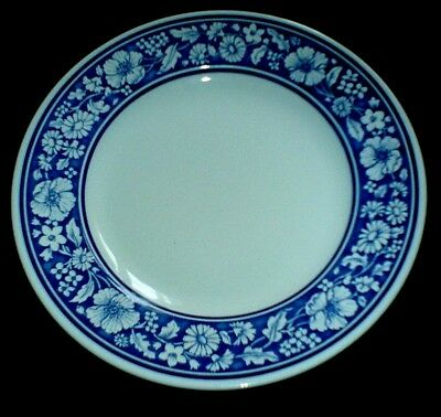 ROYAL WESSEX Blue / White Flower Pattern 9 1/2 inch Plate