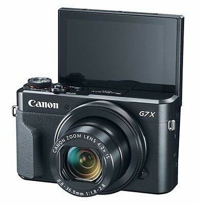 Canon PowerShot G7X Mark II - digital camera 20.1MP with Wi-Fi and NFC