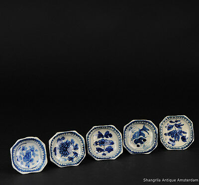 Antique Asian or South East Asian Altar Dishes Peanot Bowls Japan Thailand